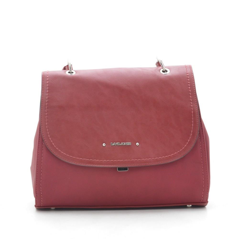 Жіноча сумка David Jones CM5464T d. червона
