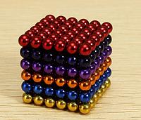 Неокуб - радуга, магнитные шарики, Нео куб ,неокуб 5 мм