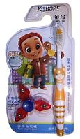 Зубная щетка детская + Спиннер (616)