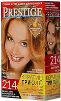 """Крем-краска для волос Vip's Prestige """"214 Золотисто-русый"""""""