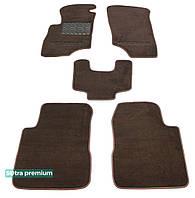 Текстильные коврики Mitsubishi Outlander 2001-2008 | Автоковрики Sotra ST 01034-CH-Choco