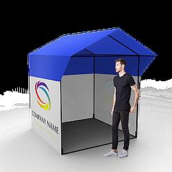 Торговая ПВХ палатка 2 × 2 с печатью