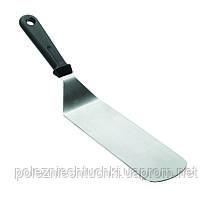 Лопатка угловая 7,5х21,5 см. Lacor, широкая с пластиковой ручкой (60420)