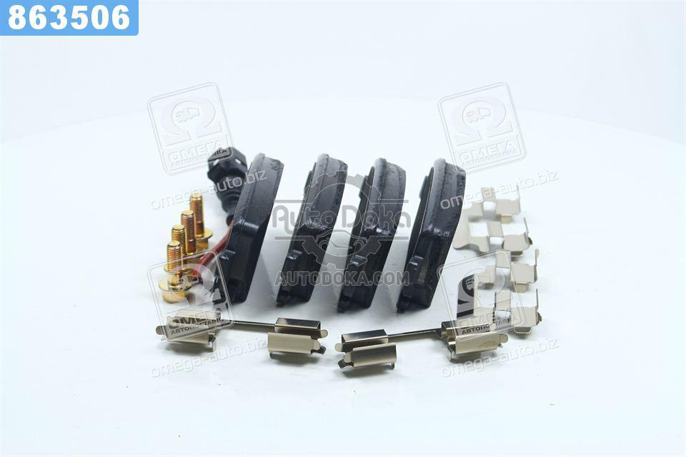 Колодки тормозные ФОЛЬКСВАГЕН T5 (7HM), T5 (7HB, 7HJ) задние (производство  TRW) МУЛТИВAН  БИТЛ, ТРAНСПОРТЕР  5, GDB1557