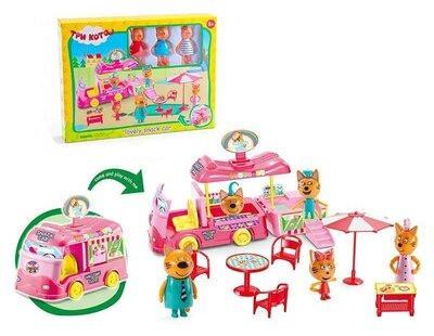 """Игровой набор Три кота """"Машина для пикника"""" sct"""