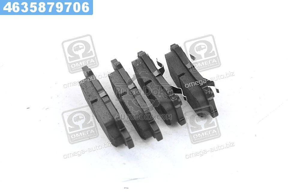 Колодки тормозные дисковые МИТСУБИШИ LANCER, OUTLANDER 03- задние (RIDER)  RD.3323.DB3341