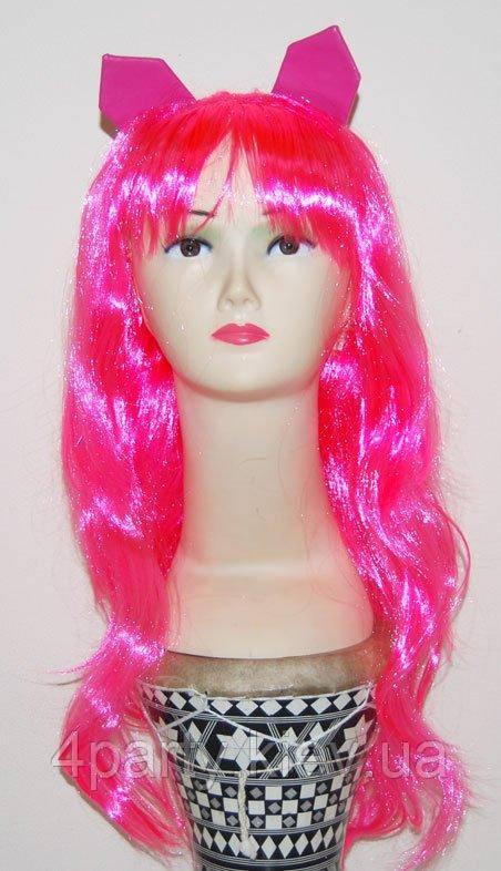 Парик Monster High (розовый с ушками) 220216-301