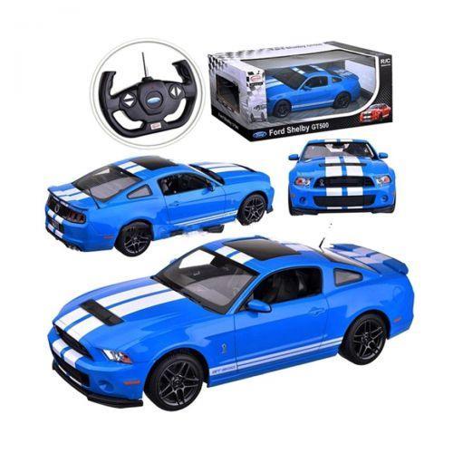 """Машина на радиоуправлении """"Ford Mustang Shelby GT500"""" (синяя)  scf"""