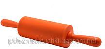Скалка-мини 22 см. пластиковая с силиконовым покрытием