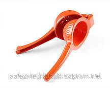 Соковыжималка для цитрусовых ручная оранжевая (для апельсина) Hendi