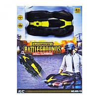 """Машинка стенолаз """"Battlegrounds"""" на радиоуправлении, для мальчиков,цвет чёрно-жёлтый, модель MX-15, в коробке"""