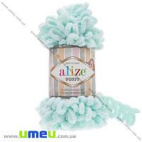 Пряжа Alize Puffy 100 г, 9,2 м, Мятная светлая 15, 1 моток (YAR-034945)