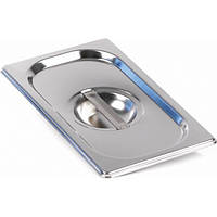 Крышка для гастроемкости GN 1/4 нержавеющая сталь Presto Ware