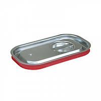 Крышка для гастроемкости с силиконовым уплотнителем GN 1/4 нержавеющая сталь, Presto Ware