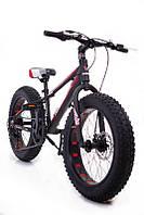"""Фэтбайк Горный велосипед """"S800 HAMMER EXTRIME"""" Колёса 20''х4,0. Алюминиевая рама '' Япония Shimano."""