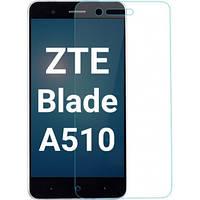 Защитное стекло прозрачное для ZTE Blade A510
