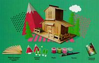 """Набір для творчості """"Будиночок Шале"""" серії WoodToy 5158009"""