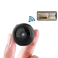 Мини камера wifi Full HD 1080P Wsdcam W8, 2 Мегапикселя, батарея на 2 часа работы