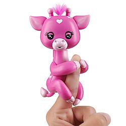 Интерактивный жираф Fingerlings - Медоу (розовая). Baby Giraffe - Meadow (Pink) (3559/3555), 5+