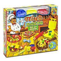 Тесто для лепки 7349 Піца і паста 12 Fun Game - 219690