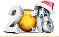 С наступающим 2013 годом