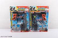 Полицейский набор игрушечный 307-7 лист 31*3*21 /216/
