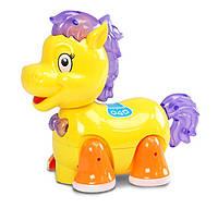 Музыкальная развивающая игрушка лошадка 8359-1 (1271554) Музыкальная развивающая игрушка , светящ , движ , батар ,в коробке