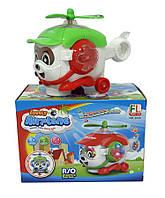 Музыкальная развивающая игрушка вертолет 2024 Хелли герой Робокар Полли, Музыкальная развивающая игрушка , свет, в кор 20*13*13см