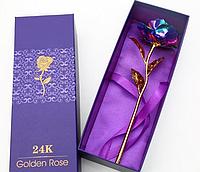 Роза с LED подсветкой в подарочной упаковке, фото 1