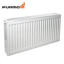 Стальной радиатор отопления PURMO Compact с боковым подключением.