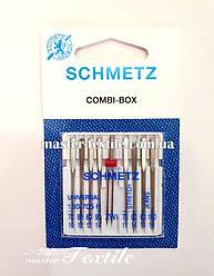 Иглы универсальные  Schmetz Universal Combi - Box
