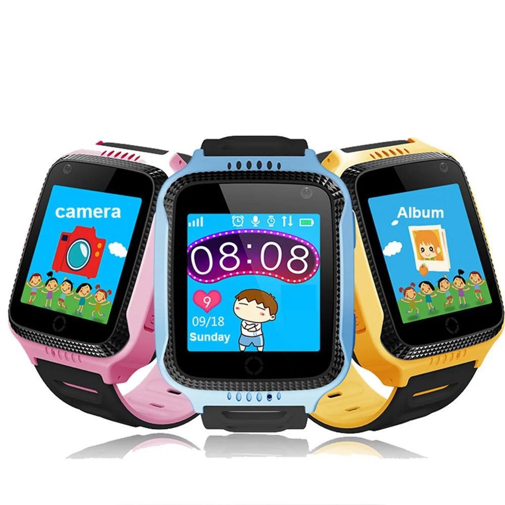 Детские смарт-часы с GPS трекером SK-004 G900A yellow