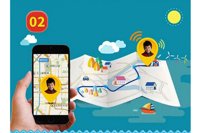 Детские смарт-часы GPS трекером SK-004 G900A yellow Желтый