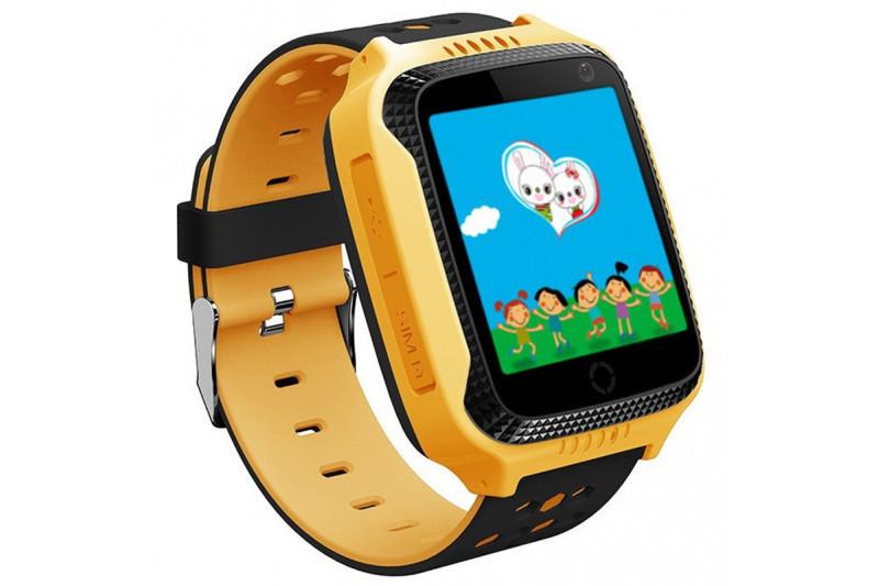 Детские смарт-часы с GPS трекером SK-004/G900A yellow