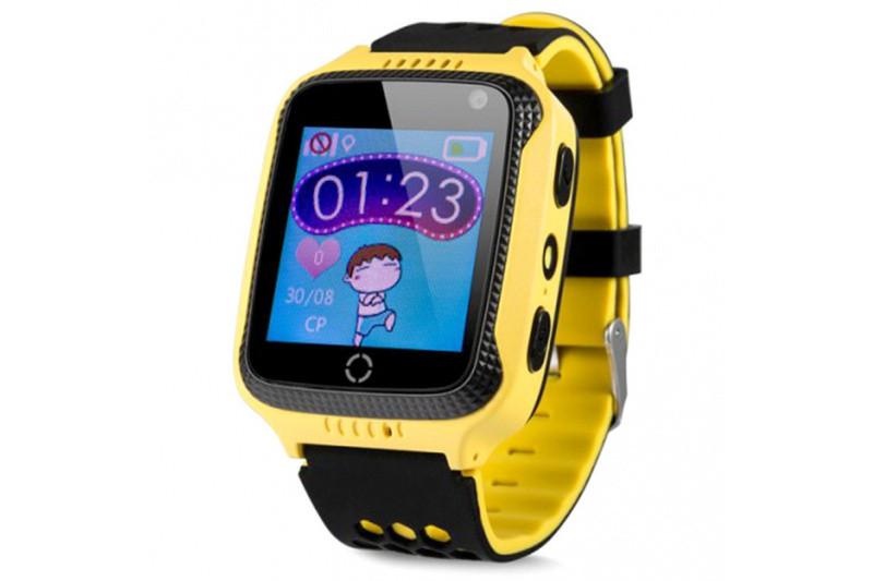 Детские смарт-часы с GPS трекером SK-004 Желтый
