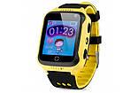 Детские смарт-часы с GPS трекером SK-004/G900A yellow, фото 2
