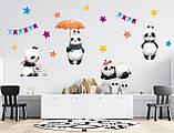 Интерьерные наклейки в детскую Панды, фото 2