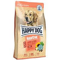 Корм Happy Dog Natur Croq Lachs & Reis Хеппі Дог Натур Крок для собак з лососем і рисом 12 кг