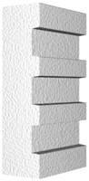 Архитектурный фасадный декор из пенопласта. Молдинг М-2