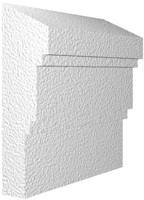 Архитектурный фасадный декор из пенопласта. Молдинг М-4