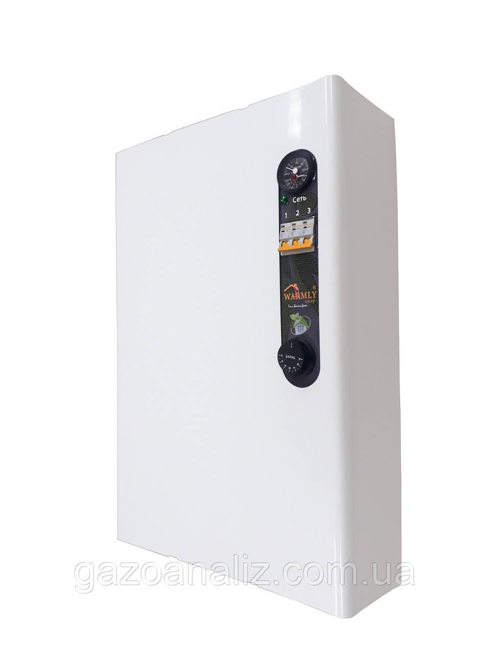 Електрокотел з насосом і бачком Warmly PRO 4,5 кВт 220/380 В (тихий)