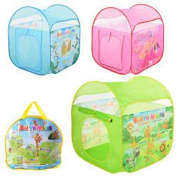 Палаткадетская кубM 3711 с рисункамив сумке