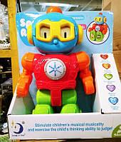 Детский игрушечный говорящий робот 2209-14