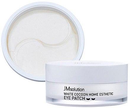 Гидрогелевые патчи с протеинами шёлка JMsolution Silky Cocoon Home Esthetic Eye Patch(Medium)