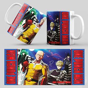Чашка Аниме One Punch Man 002