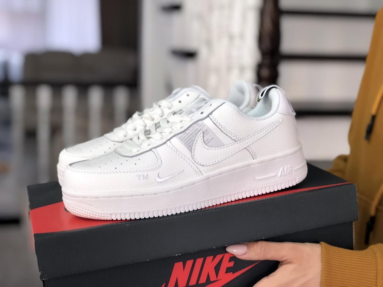 Жіночі кросівки Nike Air Force (білі)