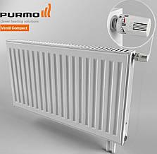 Радиатор стальной PURMO Ventil Compact с нижним подключением