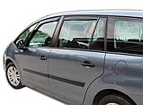 Дефлектори вікон вставні Citroen C4 Grand Picasso 5D 2007-> 4шт, фото 2