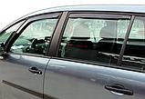Дефлектори вікон вставні Citroen C4 Grand Picasso 5D 2007-> 4шт, фото 3
