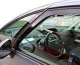 Дефлектори вікон вставні Citroen C4 Grand Picasso 5D 2007-> 4шт, фото 4
